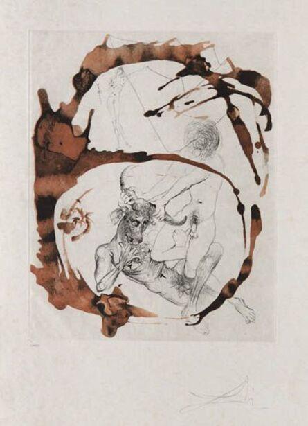 Salvador Dalí, 'Theseus and Minotaurus', 1965