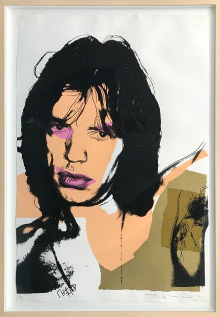 Andy Warhol, 'MICK JAGGER FS II.141', 1975