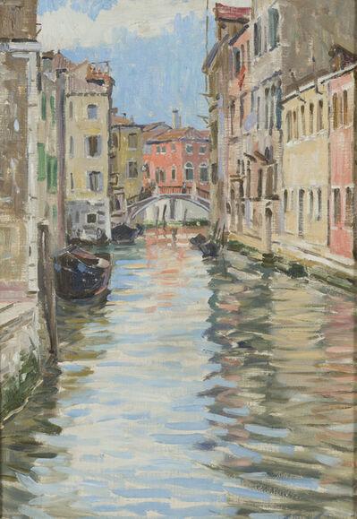 Elliot Bouton Torrey, 'Venice Canal Scene'