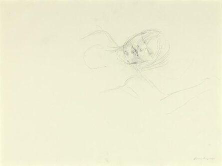 Andrew Wyeth, 'Asleep Study (2)', 1981