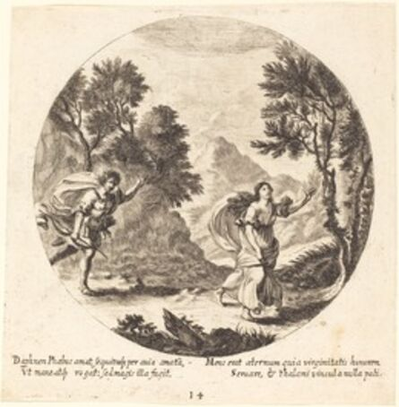 Georg Andreas Wolfgang, the Elder, 'Apollo and Daphne', 1665