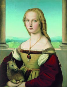 Raphael, 'Portrait of a Lady with a Unicorn', ca. 1505