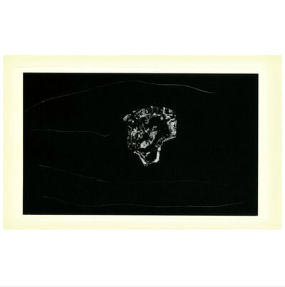 Robert Motherwell, 'Vintage Robert Motherwell Anouncement Card, 'Black'', 1981
