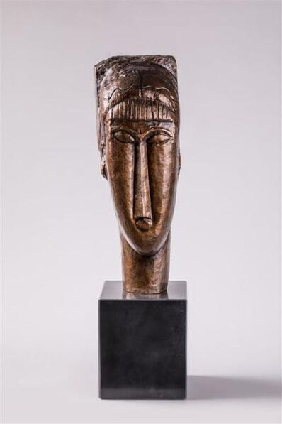 Amedeo Modigliani, 'Tête de jeune femme', ca. 1990