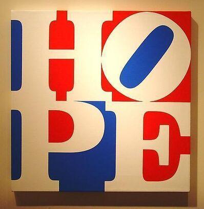 Robert Indiana, 'HOPE W/R/B', 2008