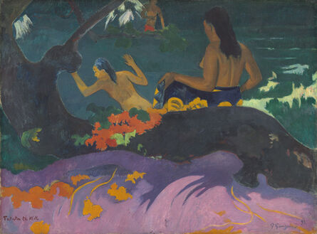 Paul Gauguin, 'Fatata te Miti (By the Sea)', 1892