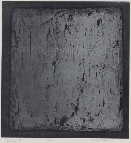 Ruth Eckstein, 'Tracings I'