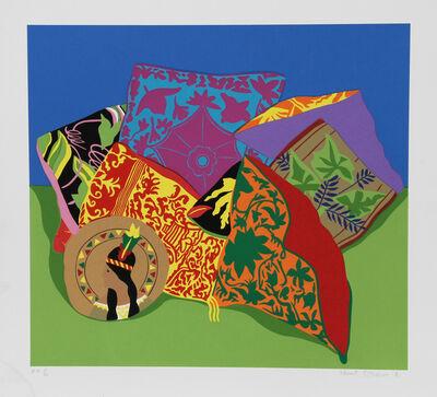 Hunt Slonem, 'Pillow Garden', 1980