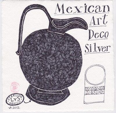 Victoria Behm, 'Mexican Art Deco Silver', 2012