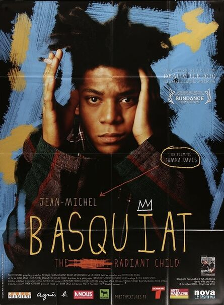 Jean-Michel Basquiat, 'JEAN-MICHEL BASQUIAT: THE RADIANT CHILD French One Panel Original Release Movie Poster 2010', 2010