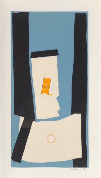 Robert Motherwell, 'Harvest, in Scotland, from the Summer Light Series', 1973
