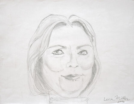 Leora Miller, 'Hillary', 2016