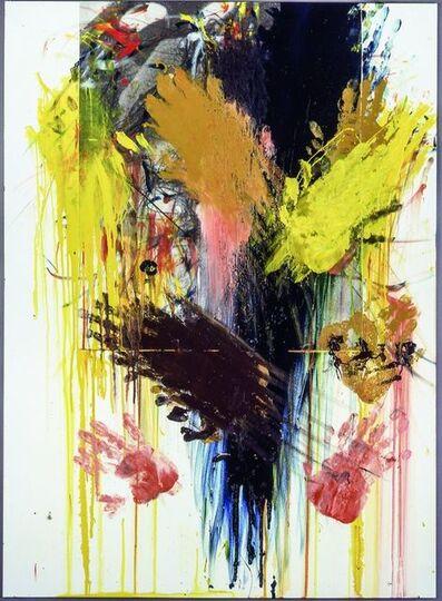 Arnulf Rainer, 'Untitled (Overpainted Christ)', 1983