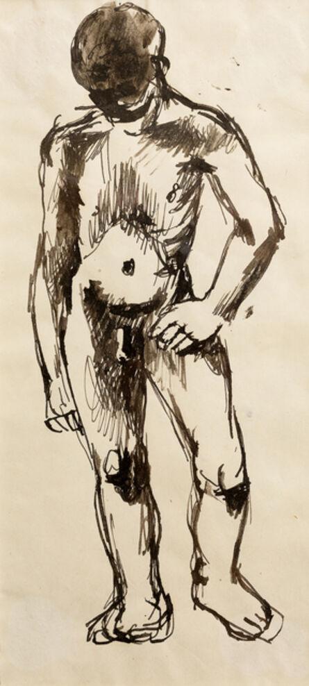 Keith Vaughan, 'Standing male figure', ca. 1941