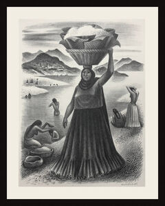 Miguel Covarrubias, 'TEHAUNTEPEC RIVER', 1951