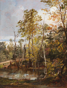 Jasper Francis Cropsey, 'Landscape', 1851