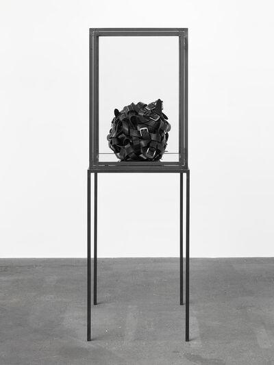 Monica Bonvicini, 'Belts Ball', 2015