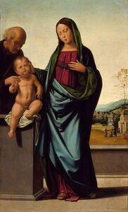 Baccio della Porta, called Fra Bartolommeo, 'Holy Family', ca. 1497