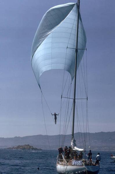 Slim Aarons, 'Spinnaker Sailing, Sardinia (Aarons Estate Edition)', 1973