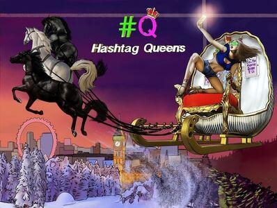 Robodrone, 'Hashtag Queens Sky Sleigh', 2018