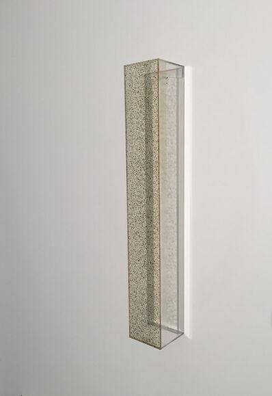 Ron Cooper (b.1943), 'Vertical Bar (Gold to Green) ', 2020
