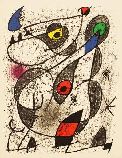 Joan Miró, 'A L'Encre II', 1972