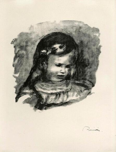 Pierre-Auguste Renoir, 'Claude Renoir, le tete baissee', 1904