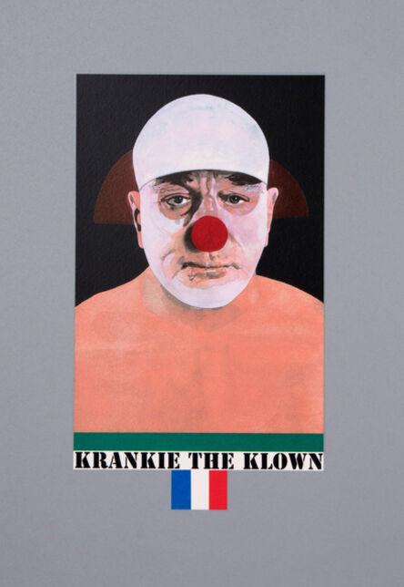 Peter Blake, 'Krankie the Klown', 2017