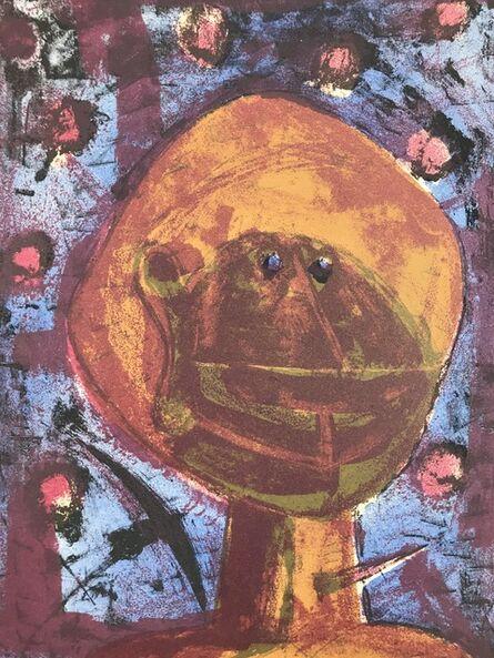 Rufino Tamayo, 'Cabeza Con Pajaros', 1958