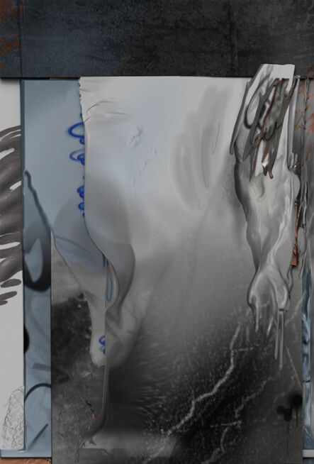 Wu Chuan-Lun, 'Debris_ Monday (Landsberger Allee) ', 2020