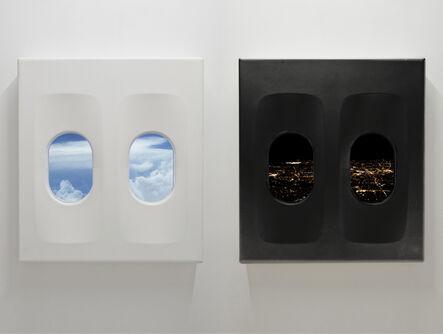 Leandro Erlich, 'White Flight Overnight, Black Flight Overday', 2015