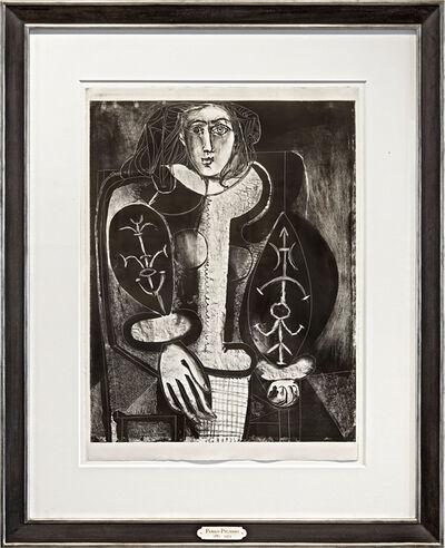 Pablo Picasso, 'Le Femme au Fauteuil No. 1, d'après le rouge', 1948