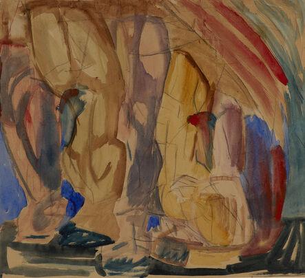 David Bomberg, 'Figure Composition', n.d.