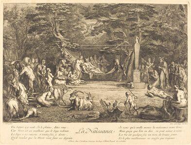 Claude Gillot, 'La Naissance (Birth)'