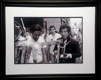 Paul Garrin, 'Nam June Paik, Elliot Kaplan & Shridhar Baptat with Robot K456, Madison Ave', 1980