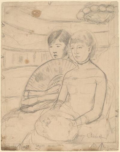 Mary Cassatt, 'The Loge [recto]', 1882