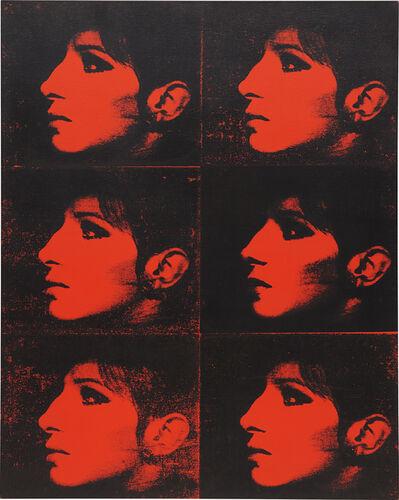 Deborah Kass, 'Six Red Barbras (Jewish Jackie Series)', 1993