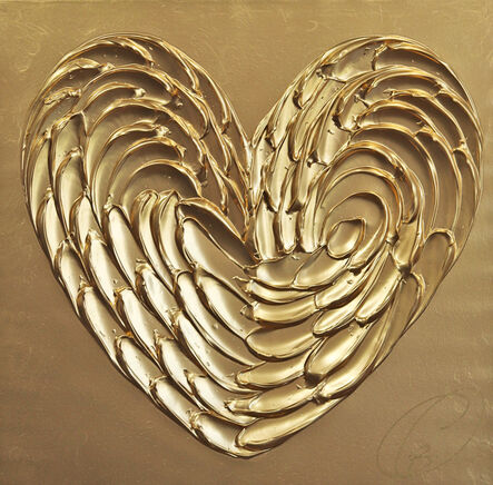 Cynthia Coulombe Bégin, 'Gold Love No. 5', 2021