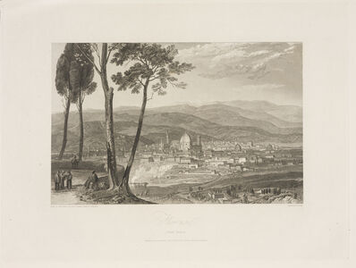 J. M. W. Turner, 'Florence from Fiesole', 1819