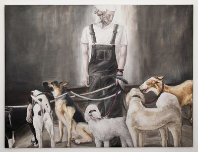 Hsu Yinling 許尹齡, 'Taxidermist and his assistants', 2014-2015