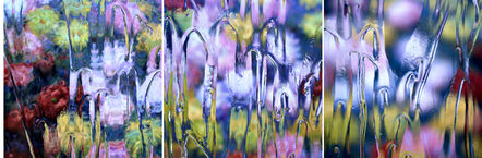 Carol Inez Charney, 'After Claude Monet - Chrysanthemums 1, 2, 3, 1897, 2017', 2017