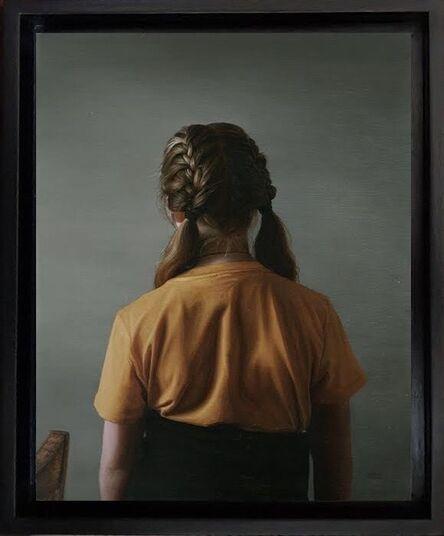 Jane Beharrell, 'Girl with Plaits', 2020