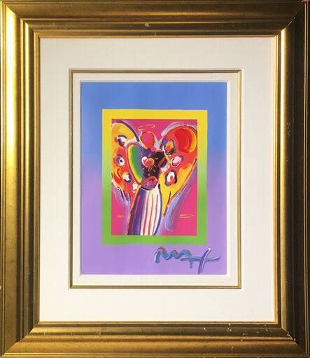 Peter Max, 'Angel with Heart on Blends ', 2009