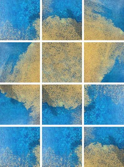 Marwa Al Khalifa, 'Yellow and Blue Series', 2015