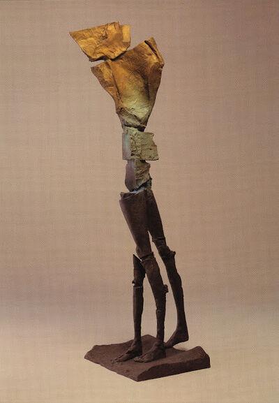 Stephen De Staebler, 'Winged Figure with Three Legs', 2003