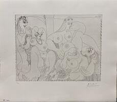 Pablo Picasso, 'Autour du Bain Turc, avec un petit intrus (Pl.49 from the 156 Series)', 15 Mai 1970
