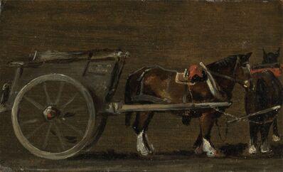 John Constable, 'Horse and Cart', ca. 1814