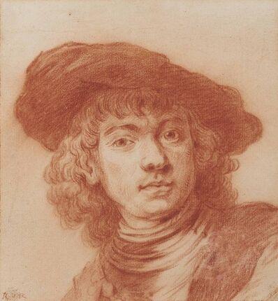 After Rembrandt van Rijn, 'Self-portrait, after Rembrandt'