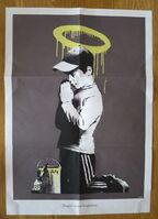 Banksy, 'Banksy Forgive Us Our Trespassing', 2010