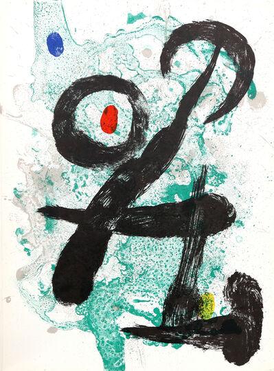 Joan Miró, 'Le Faune from Derrière le Miroir ', 1963